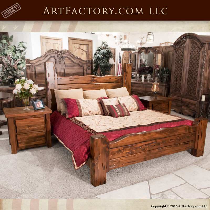 Custom Beds Dressers Wood Iron