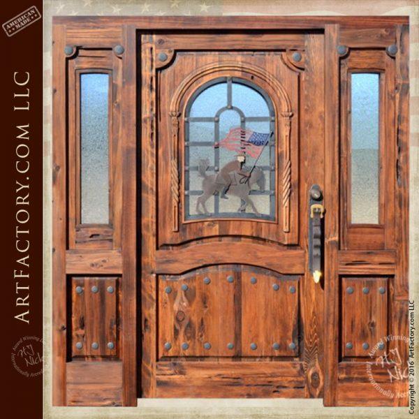 western style custom door