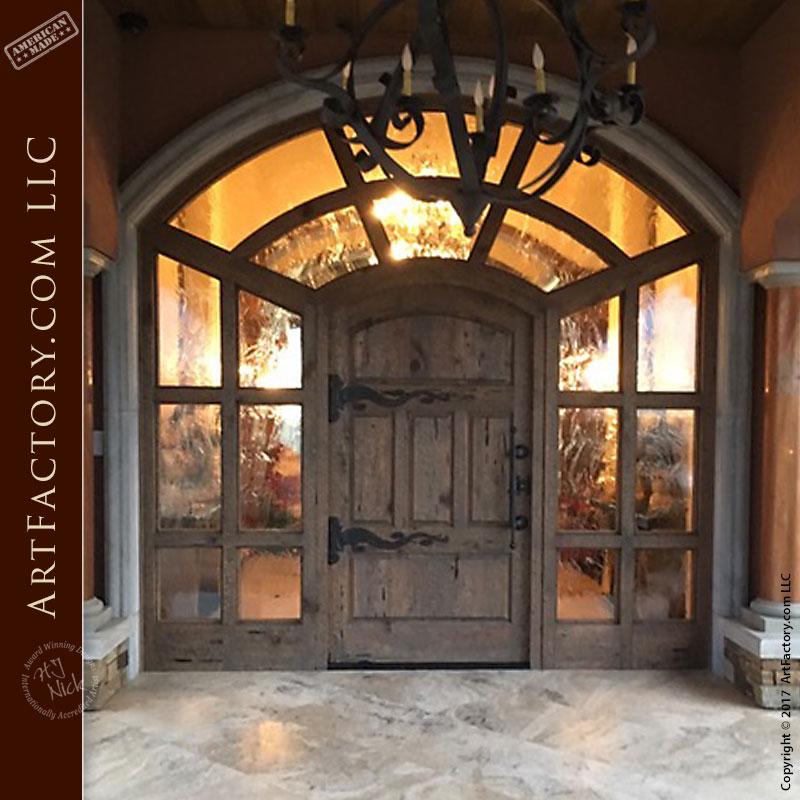 Entry doors custom made door with sidelights for Custom made doors