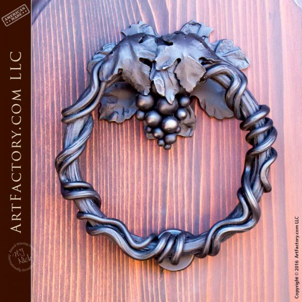Decorative Grapevine Door Knocker