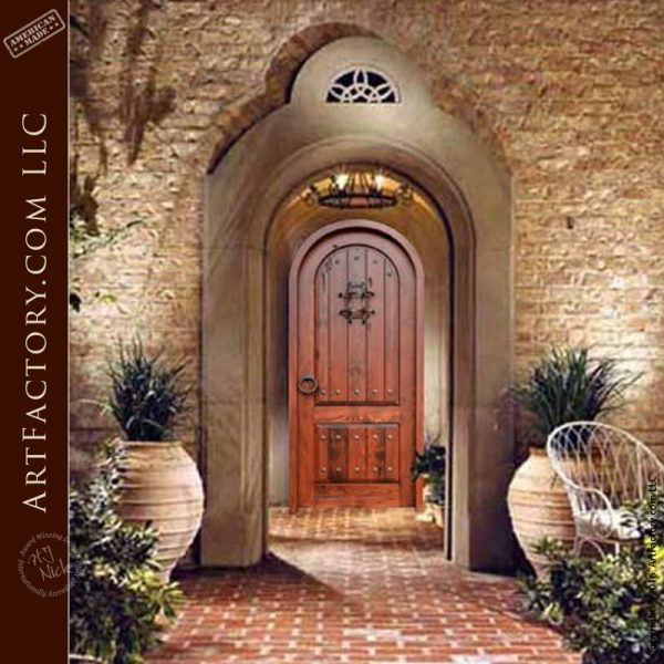 Decorative Arched Handmade Doors