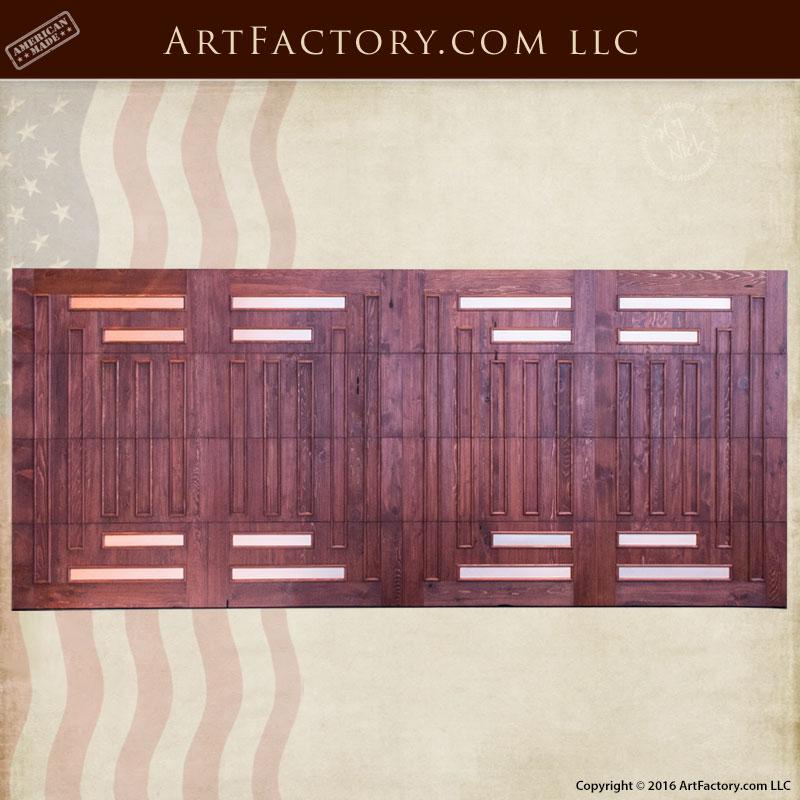 craftsman style garage door