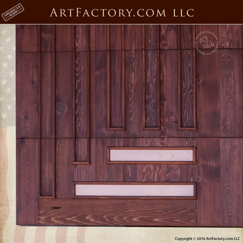Craftsman Style Garage Door Greene Amp Greene Design Solid