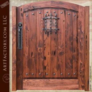 historically inspired gates