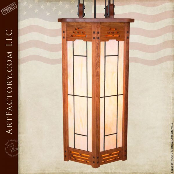 Craftsman Lighting Pendant Chandelier Handmade To Fine