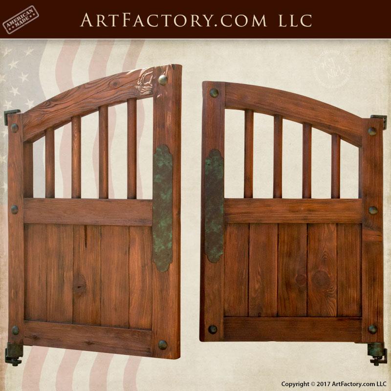 western style saloon doors