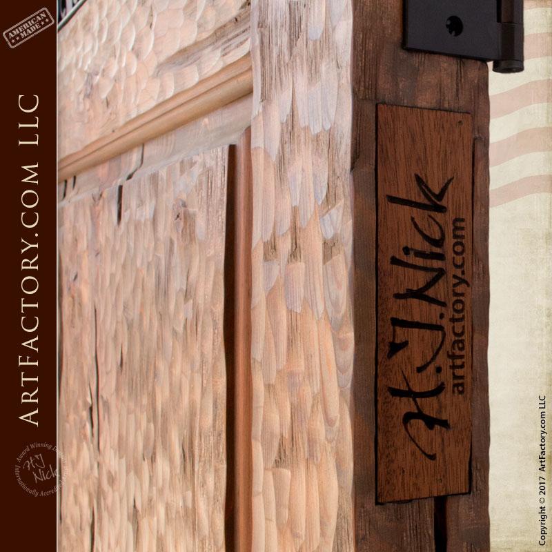 Custom Wood Gates: Arched Wood Garden Gate: Custom Entrance Gates In Any Style