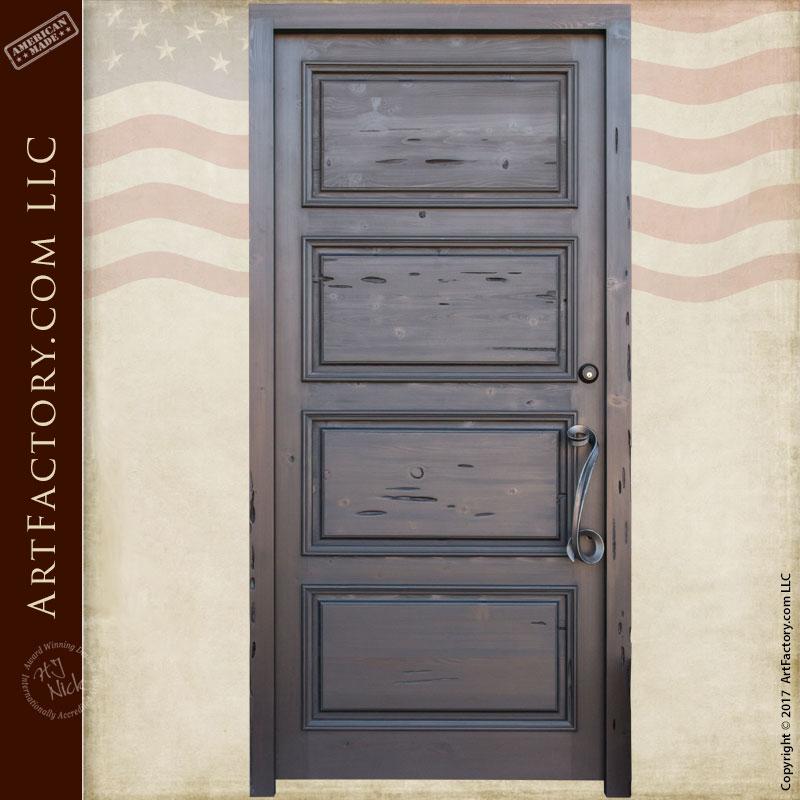 four panel front door