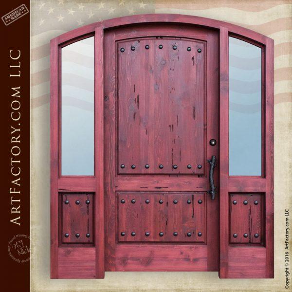 Custom Arch Grand Entry Door