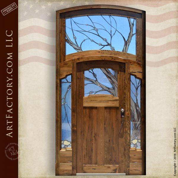 Cherry Blossom Theme Door