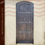 custom arched entry door