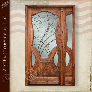 custom Art Nouveau door