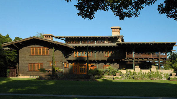 Greene and Greene architects, Gamble House