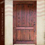 castle entrance door