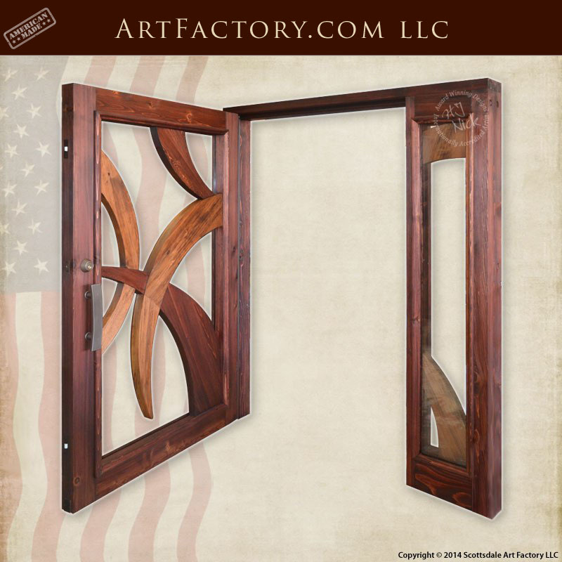 Modern Art Style Door Contemporary Art Deco Style Entrance