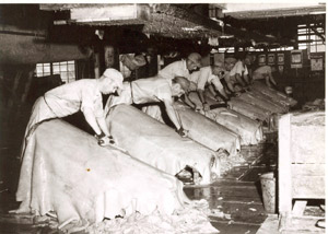 American leather tanneries