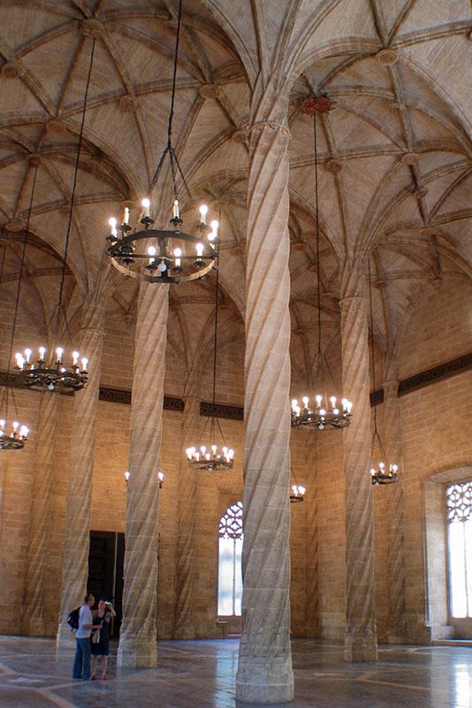 Spanish Gothic chandelier