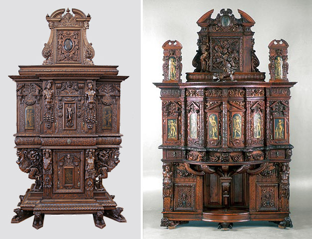 Getty Museum cabinets French 16th century