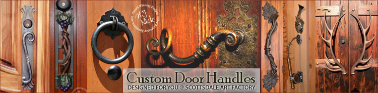 Dream Custom door handles, door knobs, pulls hardware