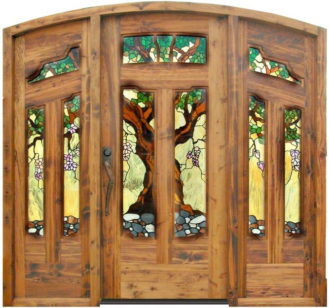 craftsman style doors