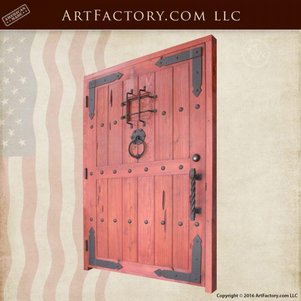 Custom Castle Style Door