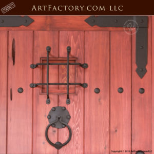 Custom Castle Style Door