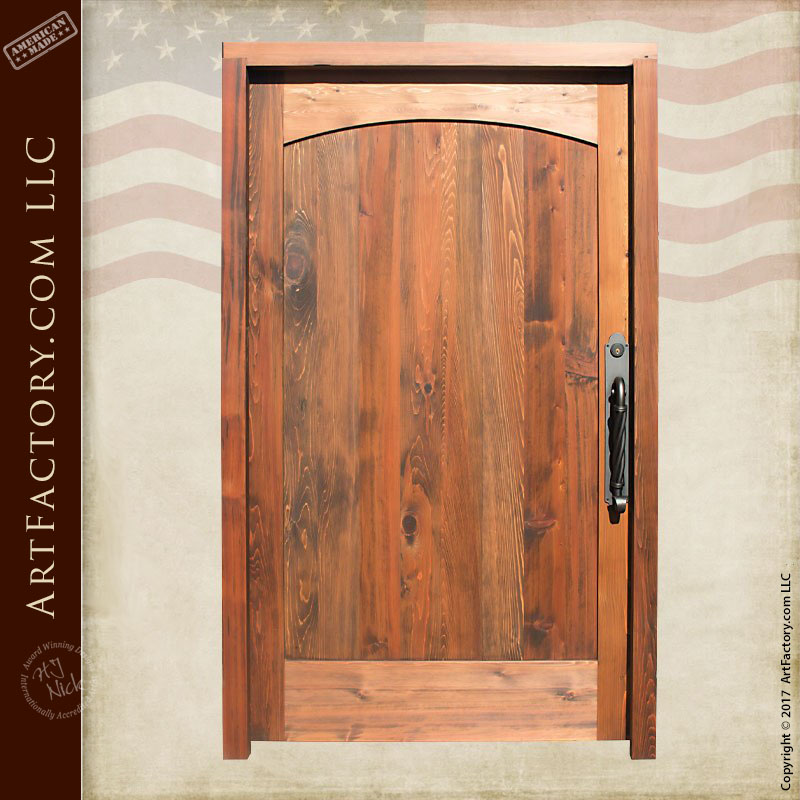 Solid Wood Doors Built With Solid Air Dried American Timber