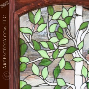 Stained Glass Dutch Door