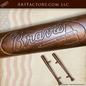 baseball bat door pulls