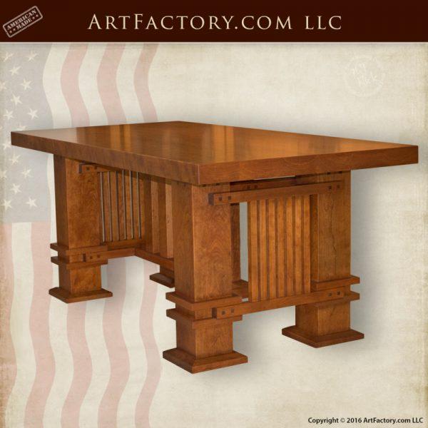 custom craftsman style table