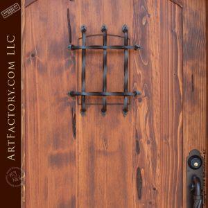 eyebrow arched speakeasy door