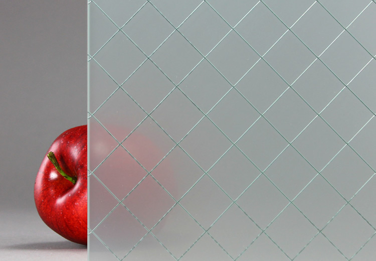 glass textures wire
