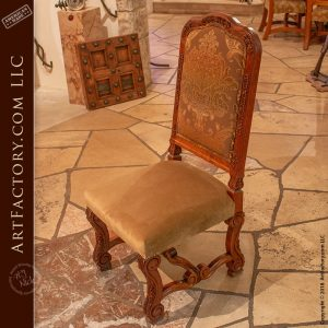 hand carved cherry dining chairs with hand carved solid cherry dining table