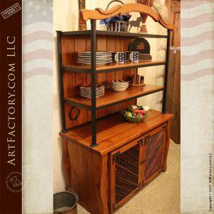 Western Style kitchen hutch