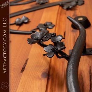 Dogwood Blossom Door Handle