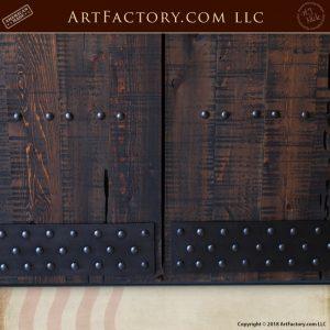 custom gothic double doors