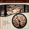 Custom Decorative Overlay Window Set