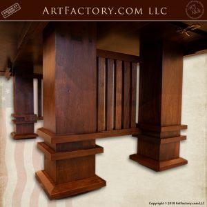Frank Lloyd Wright inspired table