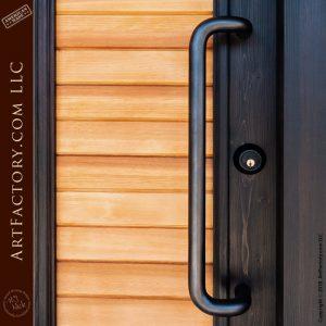 modern custom front door
