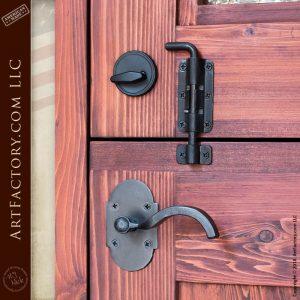 decorative glass Dutch door