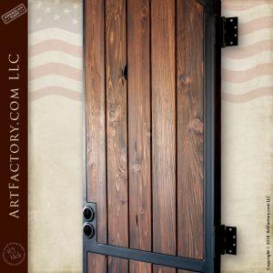 Traditional Wooden Garden Gate