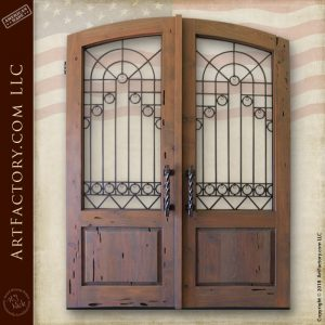 custom European entrance gates