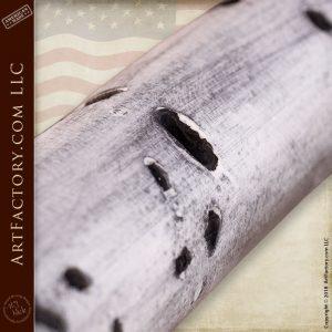 Custom Birch Branch Door Handle