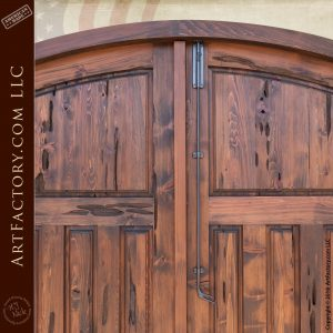 elk lodge entrance doors