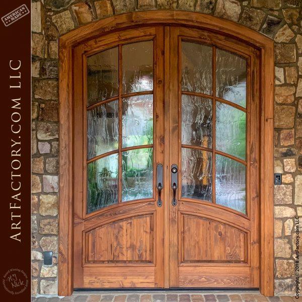 Art Nouveau Custom Doors