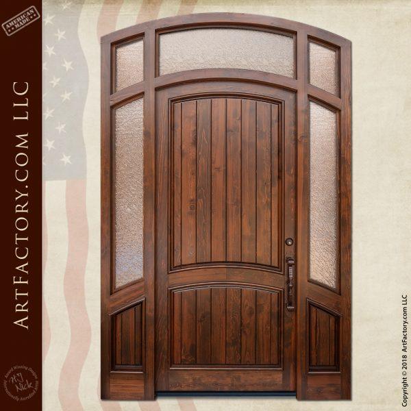 semi arched front door