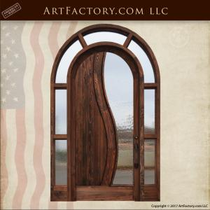 modern contemporary door