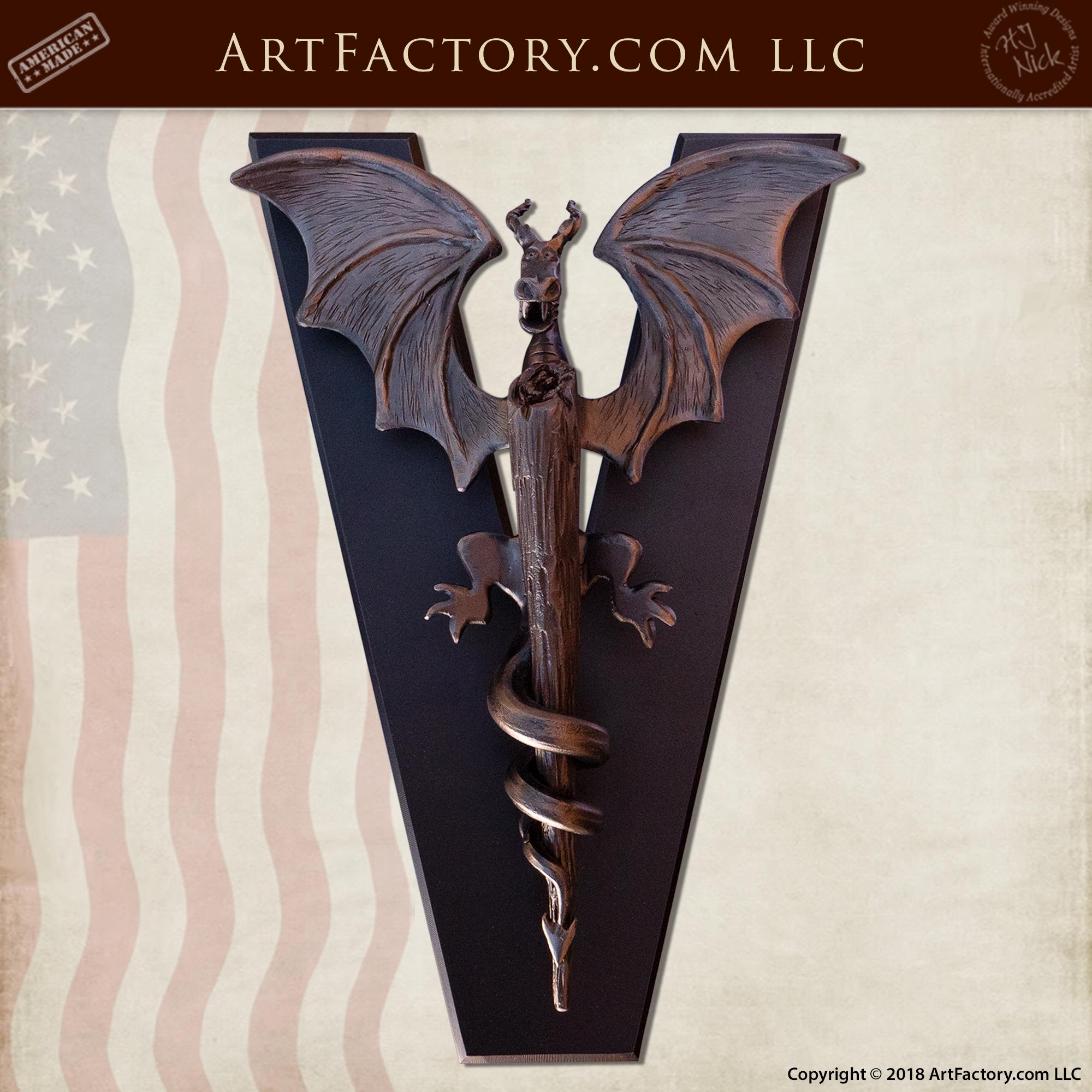 custom dragon door knocker
