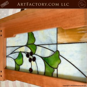 Craftsman Stained Glass Chandelier