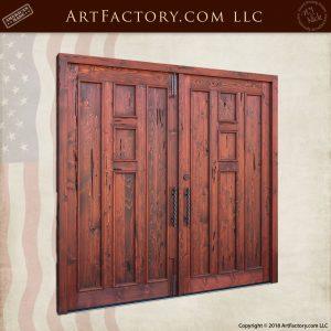 Craftsman Speakeasy Double Doors